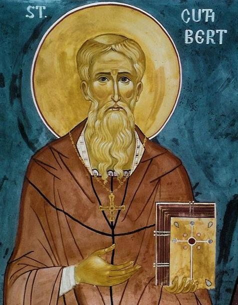 Holy Father Cuthbert, pray to God for us!
