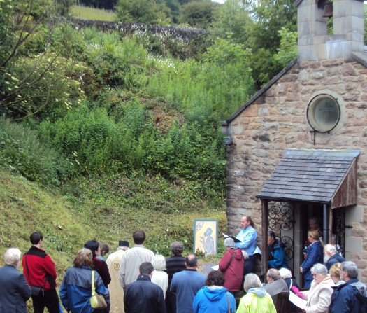 Last year's Blessing of the Waters outside the Pisani Chapel