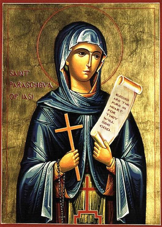 Saint Parascheva Icon