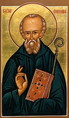 St Columba of Iona (Fr Jurewicz)